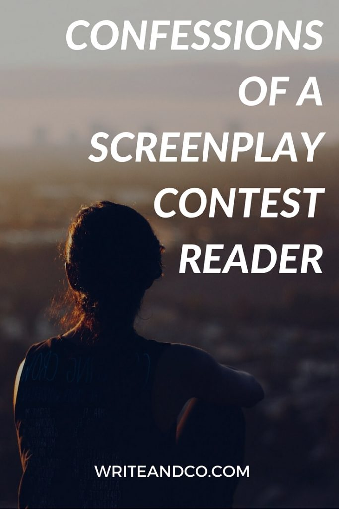 CONFESSIONS OF A SCREENPLAY CONTEST READER