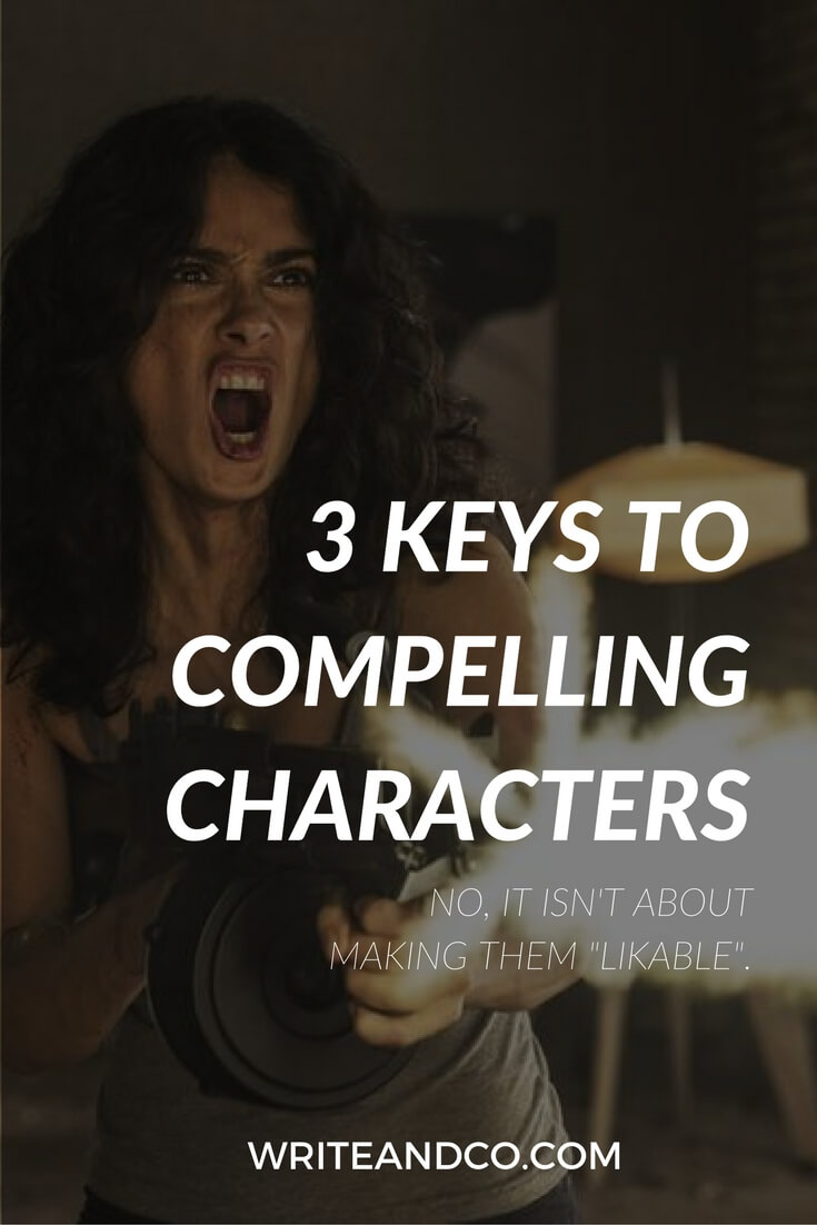 screenwriting compelling characters tips