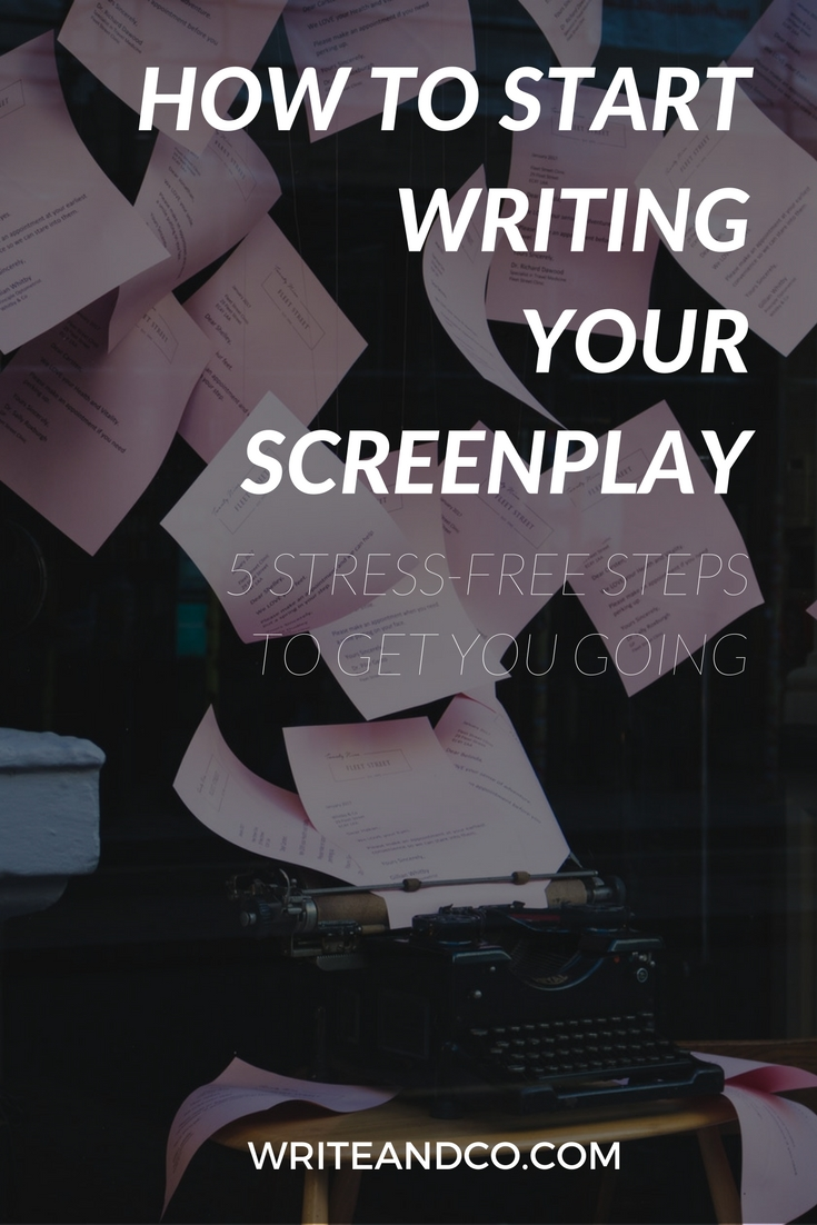 how to write a monologue in a screenplay