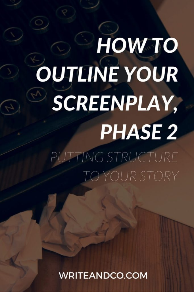 Outline Your Screenplay