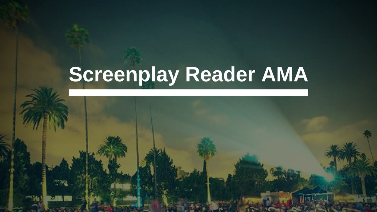 Screenplay Reader AMA