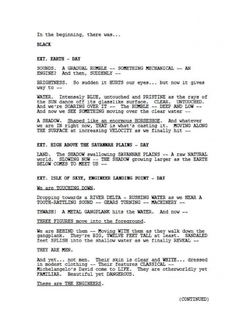 screenplay page lindelof