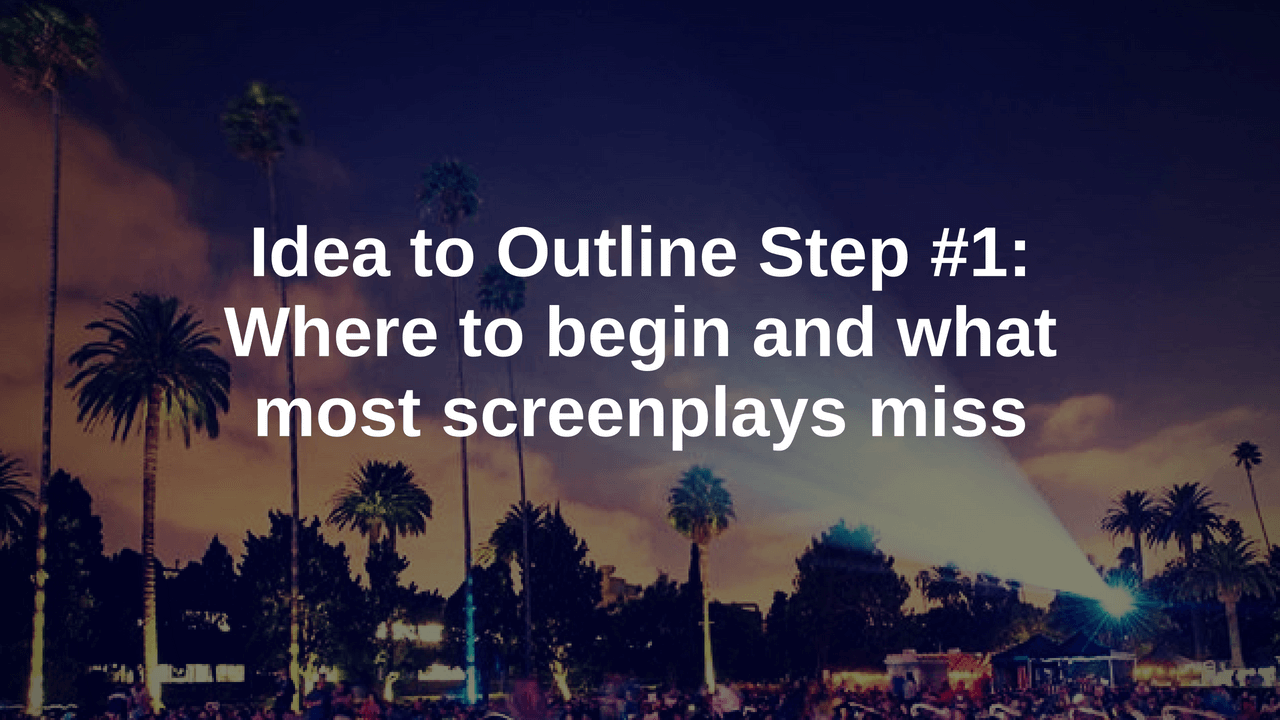Screenplay Outline blog