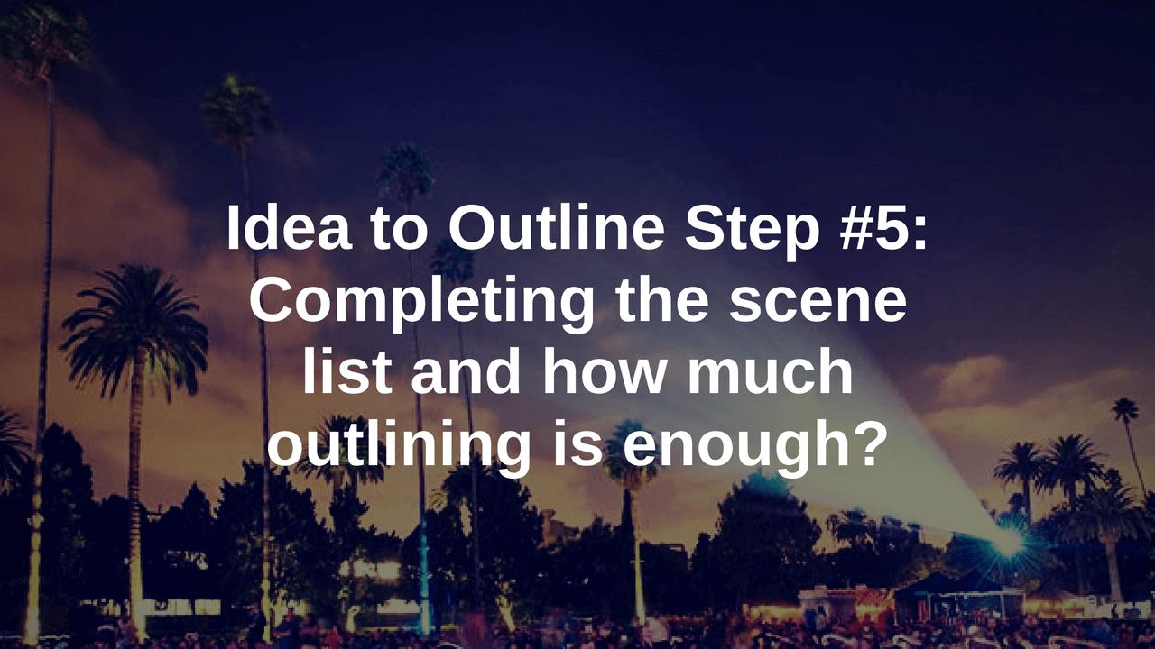 screenplay outline blog