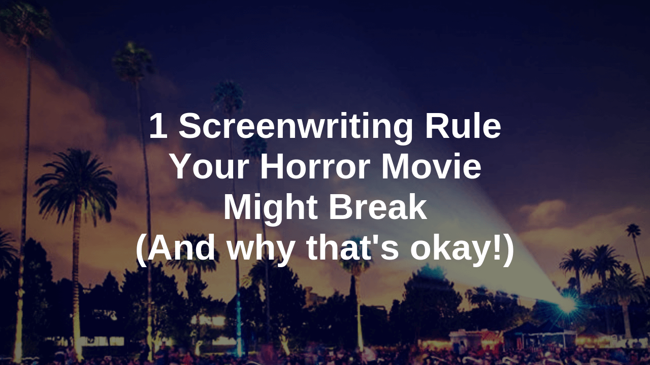 horror movie screenwriting how to blog