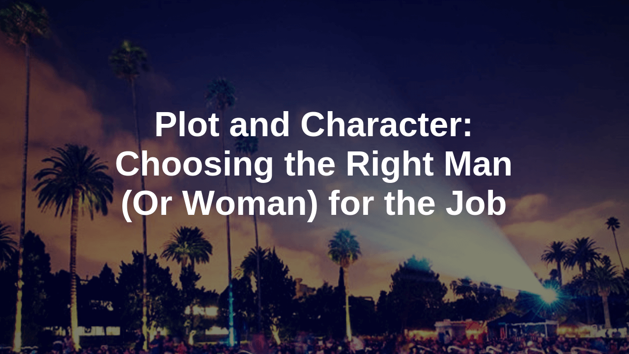plot and character screenwriting article